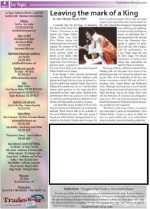 John Michael Stuart Writes about Elvis