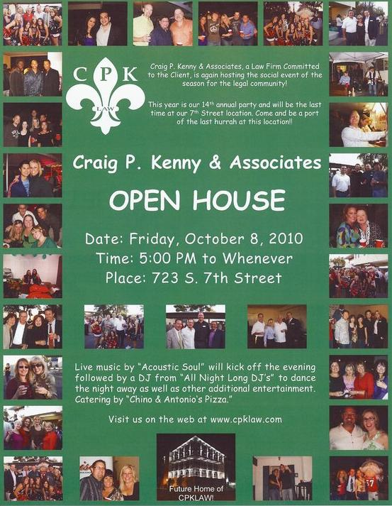 CPK Law Annual Open House Party!